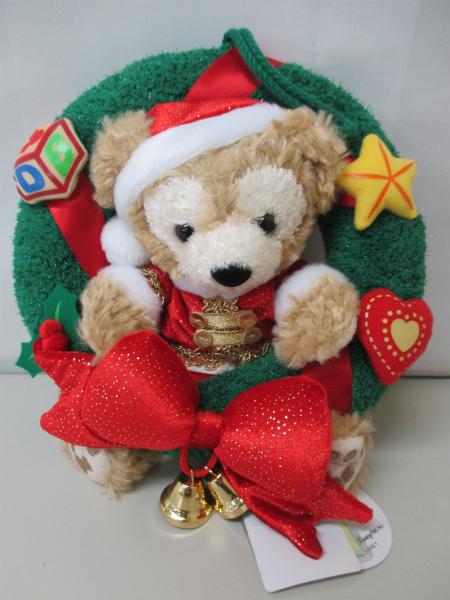 ディズニーシー ダッフィー2009クリスマスリース/サンタ