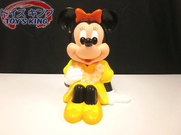 ディズニー [三菱銀行 ミニーマウス 店頭用貯金箱] /Disney