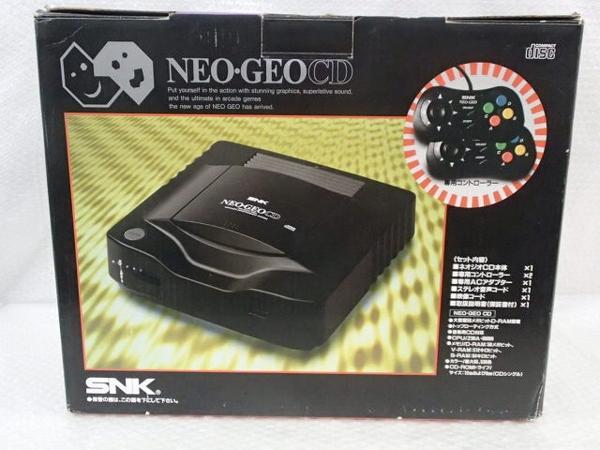SNK ネオジオ NEO・GEO CD 本体 /ゲーム機