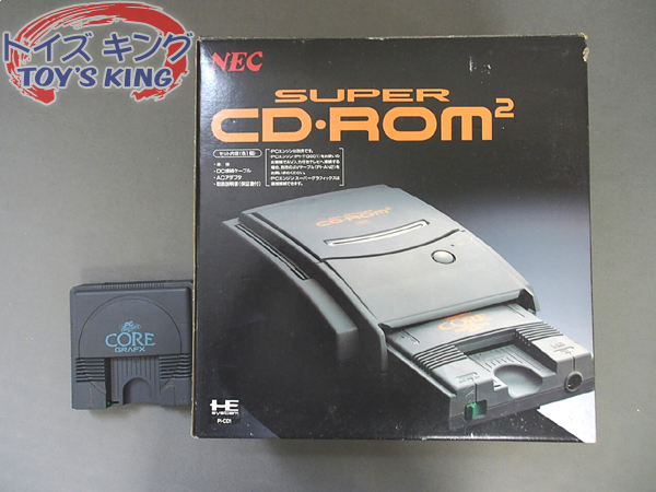 NEC SUPER CD-ROM2 / PCエンジン ゲーム ハード