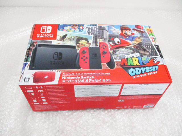 Nintendo Switch スーパーマリオ オデッセイ セット