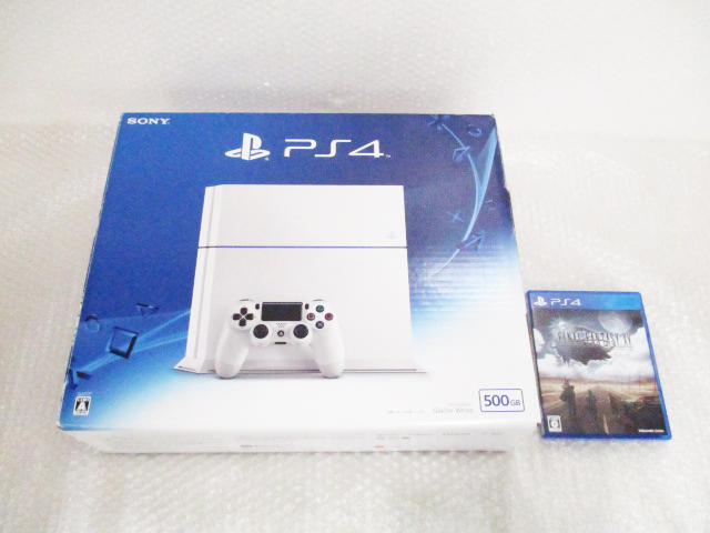 PS4(CUH-1200A B02)本体 500GB Glacier White
